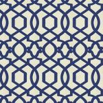 SULTANA LATTICE LUNA  100% heavy cotton with flocked velvety pattern $31.99 per yard