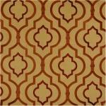 AGNES TURMERIC Multipurpose 100% Poly w/100% Rayon Embroidery $45.95 per yard