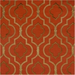 AGNES CRIMSON Multipurpose 100% Poly w/100% Rayon Embroidery $45.95 per yard