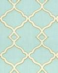 CHIPPENDALE FRETWORK MIST Waverly fabric !00% cotton $24.95 per yard