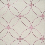LEO LILAC Multiporpose 55% Linen, 45% Rayon w/100% Rayon Embroidery $41.95 per yard