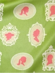 ABOUT FACE WATERMELON Waverly Fabric. 100% cotton heavy sateen cameo print fabric. Multi purpose. $22.95 per yard