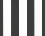 "CANOPY BLACK 100% cotton duck basecloth. 1.5"" awning Stripe. $19.95 per yard"
