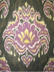 MARAKESH DUSK 100% cotton fabric ikat print.  Multi purpose. $28.95 per yard